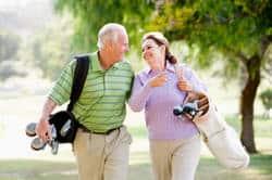 Golfing, Golf Course Monroe, New Glarus, Green County Wisconsin