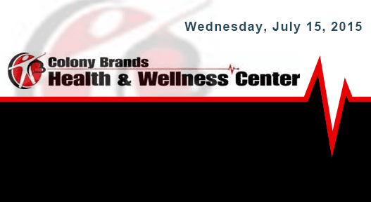 Hosted by Colony Brands held at Health and Wellness Center
