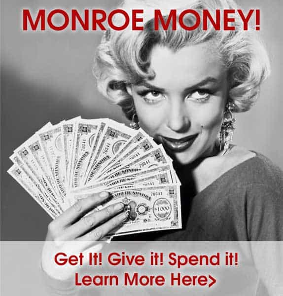 Get Your Website Badge HERE! Let customers know you accept Monroe Money.