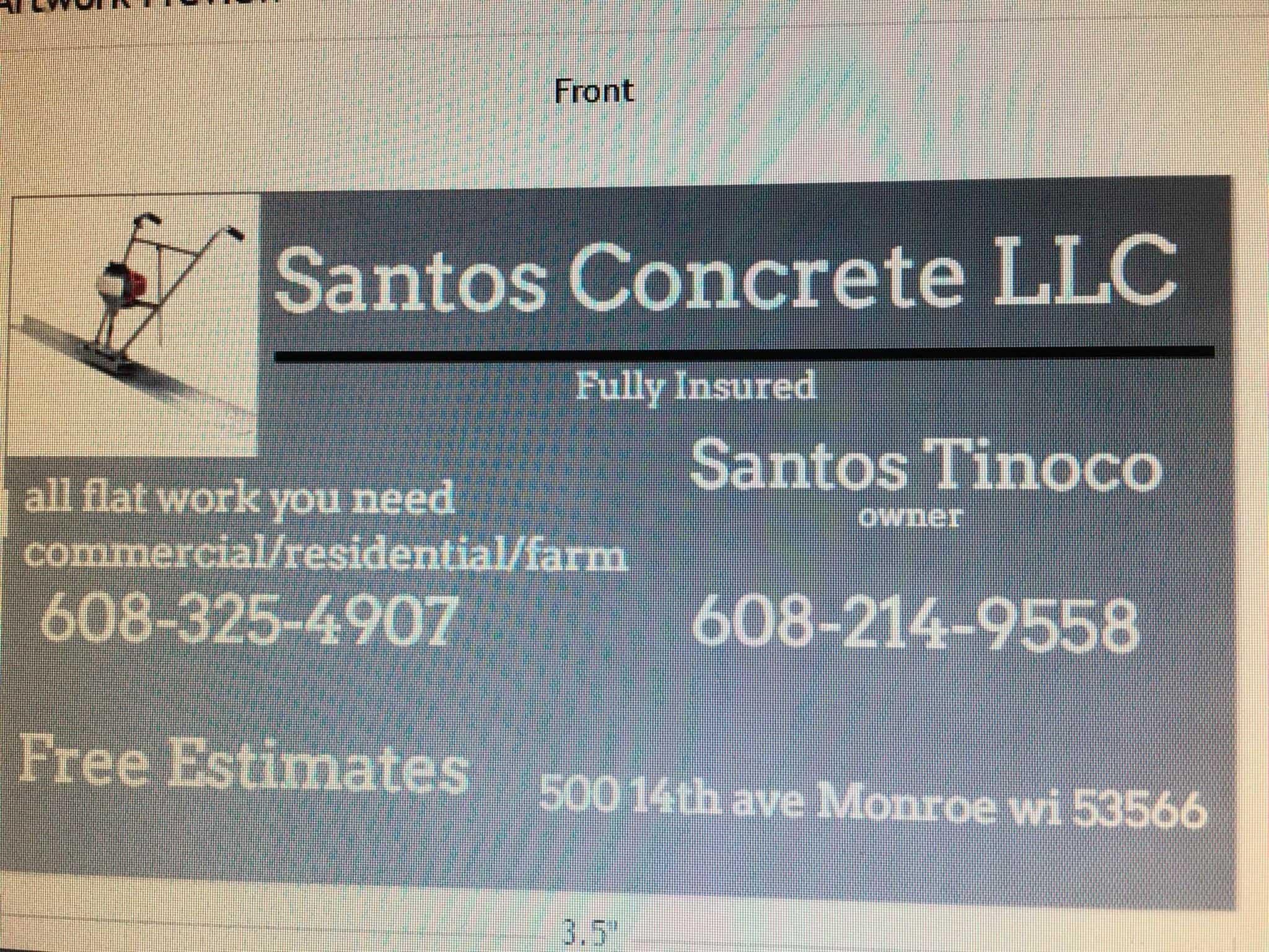 Santos Concrete, LLC