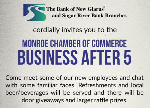 Feb 7th  BA5: The Bank of New Glarus and Sugar River Bank