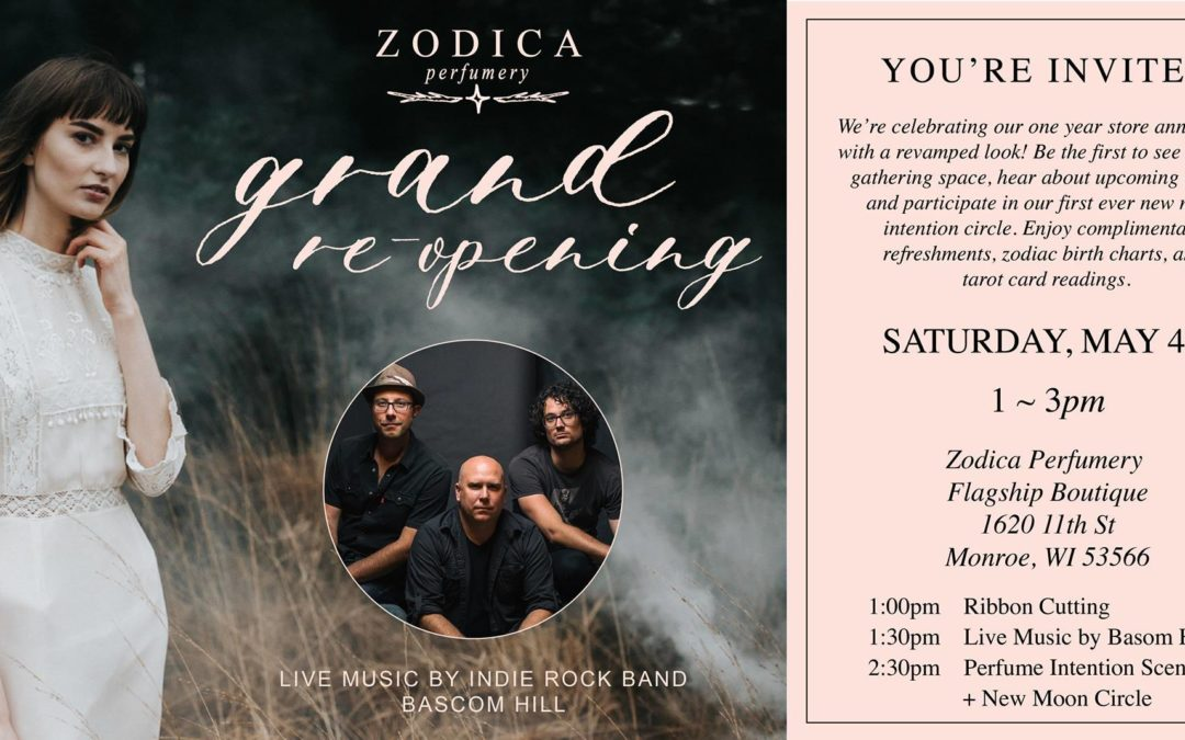 Zodica Perfumery Grand Reopening and Ribbon Cutting